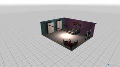 Raumgestaltung Bianca in der Kategorie Schlafzimmer
