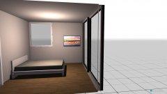 Raumgestaltung Biggi in der Kategorie Schlafzimmer