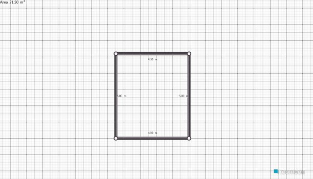 Raumgestaltung blazeva soba  in der Kategorie Schlafzimmer