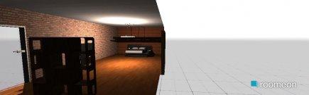 Raumgestaltung Bois et Noir in der Kategorie Schlafzimmer