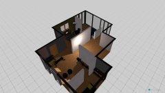 Raumgestaltung boven in der Kategorie Schlafzimmer