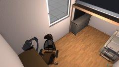 Raumgestaltung Brudizimmer in der Kategorie Schlafzimmer