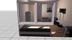 Raumgestaltung Bude 6 - Variante 2 in der Kategorie Schlafzimmer