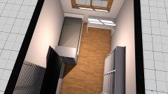 Raumgestaltung Bügelzimmer in der Kategorie Schlafzimmer