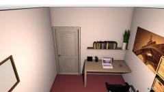 Raumgestaltung Buero in der Kategorie Schlafzimmer