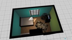 Raumgestaltung Celinas Zimmer in der Kategorie Schlafzimmer