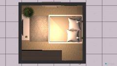 Raumgestaltung chambre 1 in der Kategorie Schlafzimmer