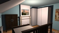 Raumgestaltung chambre a coucher in der Kategorie Schlafzimmer