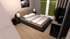 Raumgestaltung chambre à coucher esther in der Kategorie Schlafzimmer