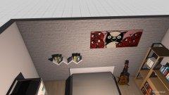 Raumgestaltung chambre dan in der Kategorie Schlafzimmer