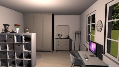 Raumgestaltung Chambre de Lea in der Kategorie Schlafzimmer