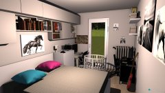 Raumgestaltung Chambre parentale Confidence in der Kategorie Schlafzimmer