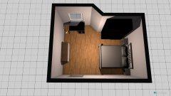 Raumgestaltung chambre1 in der Kategorie Schlafzimmer