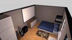 Raumgestaltung Chambre in der Kategorie Schlafzimmer