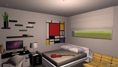 Raumgestaltung Chase's Bedroom Option 2 in der Kategorie Schlafzimmer