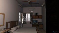 Raumgestaltung Chhota kamra in der Kategorie Schlafzimmer