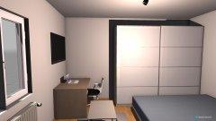 Raumgestaltung Chill zimmer in der Kategorie Schlafzimmer