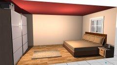 Raumgestaltung chris room red in der Kategorie Schlafzimmer
