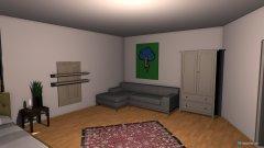 Raumgestaltung Christl Zimmer_Entwurf 1 in der Kategorie Schlafzimmer