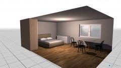 Raumgestaltung Churwalden 1 in der Kategorie Schlafzimmer
