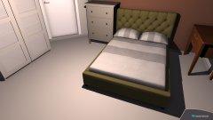 Raumgestaltung claras zimmer in der Kategorie Schlafzimmer