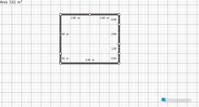 Raumgestaltung cocina in der Kategorie Schlafzimmer