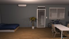Raumgestaltung College Dorm in der Kategorie Schlafzimmer