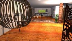 Raumgestaltung cozinha e sala in der Kategorie Schlafzimmer