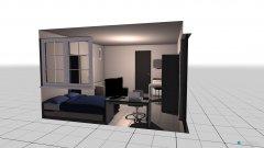 Raumgestaltung Cuarto 1 in der Kategorie Schlafzimmer