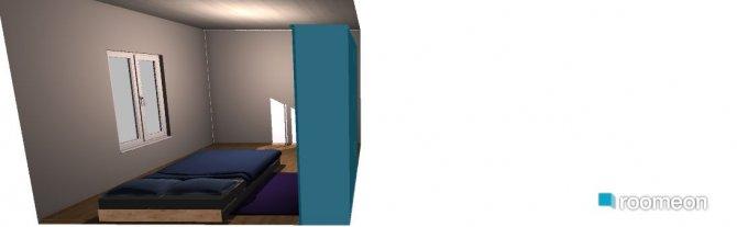 Raumgestaltung Cuarto nana in der Kategorie Schlafzimmer
