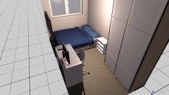 Raumgestaltung CUARTO SERGIO in der Kategorie Schlafzimmer