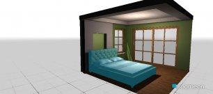 Raumgestaltung cvvcv in der Kategorie Schlafzimmer