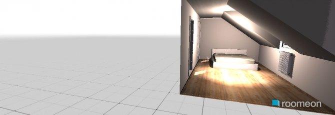 Raumgestaltung dach schlafzimmer in der Kategorie Schlafzimmer