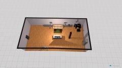 Raumgestaltung Dachboden 2  in der Kategorie Schlafzimmer