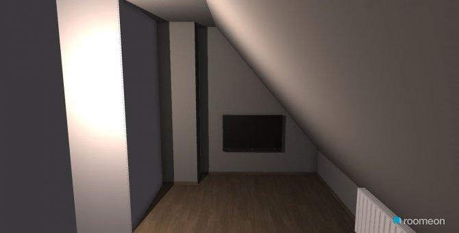 Raumgestaltung dachboden2 in der Kategorie Schlafzimmer