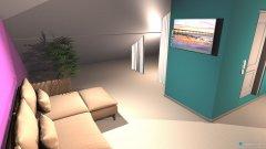 Raumgestaltung Dachboden in der Kategorie Schlafzimmer