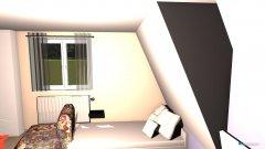 Raumgestaltung DachZimmer 2 in der Kategorie Schlafzimmer