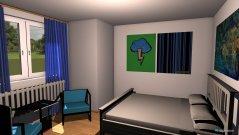 Raumgestaltung Damenzimmer, jetzt Schlafzimmer in der Kategorie Schlafzimmer
