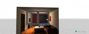Raumgestaltung Daniele's room in der Kategorie Schlafzimmer