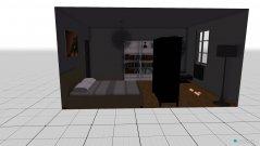 Raumgestaltung Das moderne Zimmer in der Kategorie Schlafzimmer