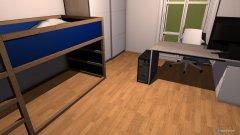 Raumgestaltung david zimmer alt umgestellt in der Kategorie Schlafzimmer
