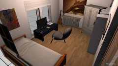 Raumgestaltung Davids office room in der Kategorie Schlafzimmer
