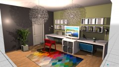 Raumgestaltung djecija soba in der Kategorie Schlafzimmer