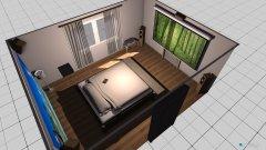 Raumgestaltung dnesice-loznice in der Kategorie Schlafzimmer