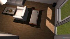 Raumgestaltung dnevni boravak milos stevo in der Kategorie Schlafzimmer
