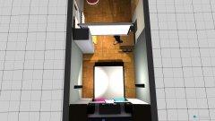 Raumgestaltung dobre steny in der Kategorie Schlafzimmer