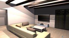 Raumgestaltung domcek varianta 2  in der Kategorie Schlafzimmer