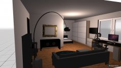 Raumgestaltung Dominik`s Zimmer in der Kategorie Schlafzimmer