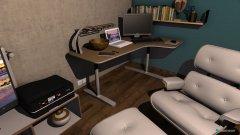 Raumgestaltung Dominik Zimmer in der Kategorie Schlafzimmer