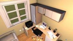 Raumgestaltung Dormitório 2 in der Kategorie Schlafzimmer